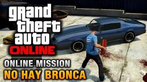 GTA Online - Mission - No Hay Bronca Hard Difficulty