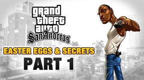 GTA San Andreas - Easter Eggs and Secrets - Part 1