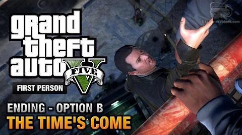 GTA 5 - Ending B - The Time's Come (FPS Walkthrough)