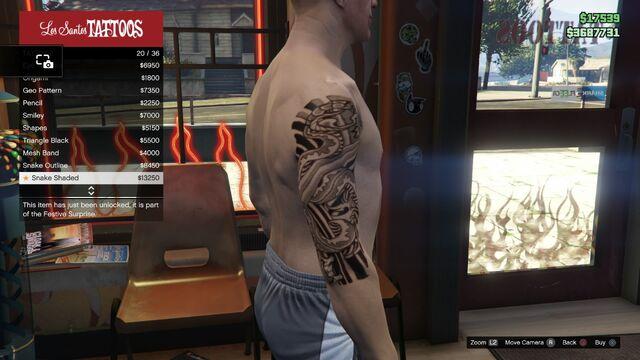 File:Tattoo GTAV Online Male Right Arm Snake shaded.jpg