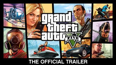 GTA V-Official Trailer-Thursday29th