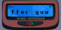 Sumo Wordman