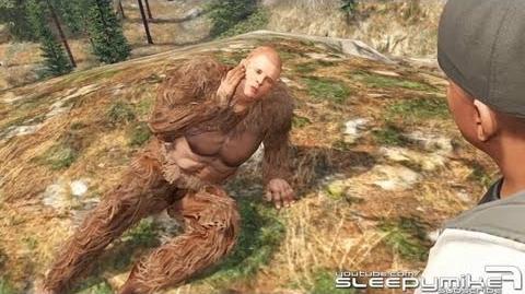 GTA V - Sasquatch Big Foot Stranger Mission Full Easter Egg