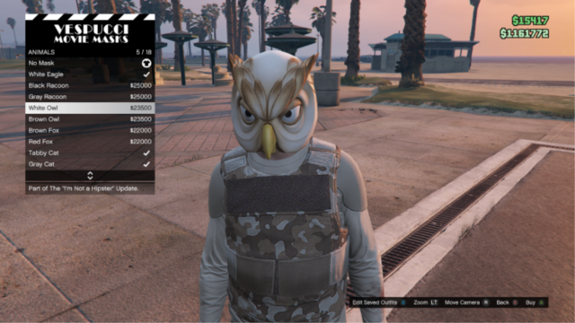 File:GTAO-Animal-White Owl Mask.png