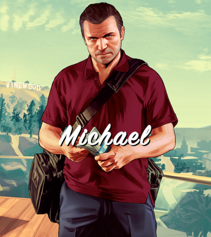 File:Michael Artwork-GTAV.png