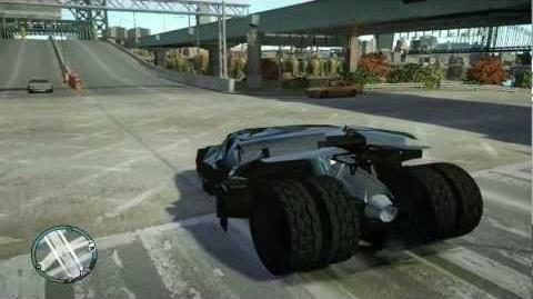 GTA IV - Batmobile tumbler