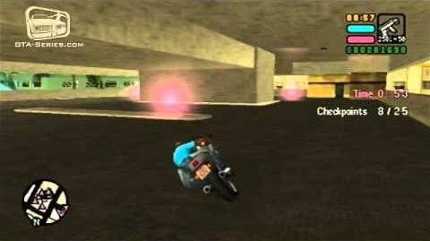 GTA Vice City Stories - Walkthrough - Playground On The Park - Checkpoint Race PS2 Exclusive