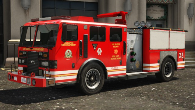 gta v how to get a fire truck
