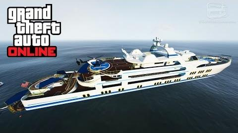 GTA Online - Yacht Gameplay and Tour Executives and Other Criminals DLC