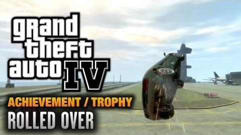 GTA 4 - Rolled Over Achievement Trophy (1080p)