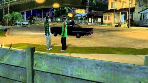 GTA San Andreas - Ballas Drive-By