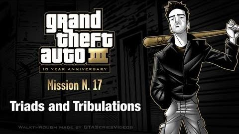 GTA 3 - iPad Walkthrough - Mission 17 - Triads and Tribulations