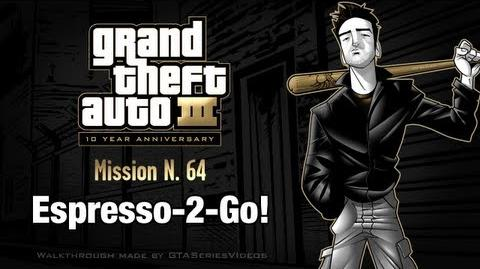 GTA 3 - iPad Walkthrough - Mission 64 - Espresso-2-Go!