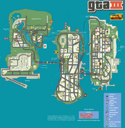 Liberty City Map (gtaIII)