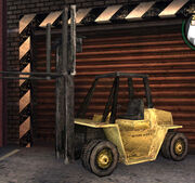 Forklift in Bully