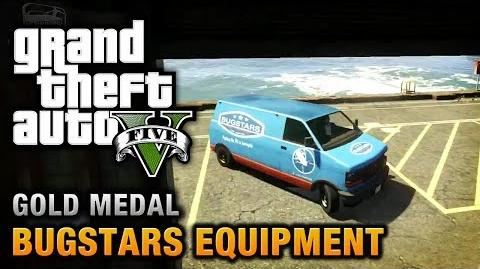 GTA 5 - Mission 14 - Bugstars Equipment 100% Gold Medal Walkthrough