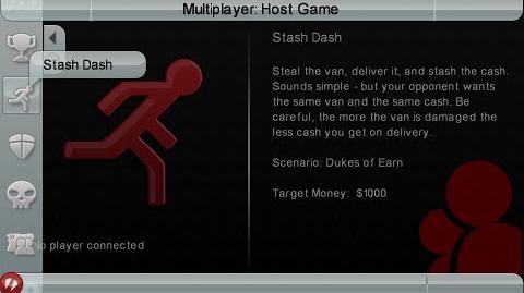 GTA Chinatown Wars - Multiplayer - Stash Dash Mode (PSP)