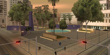 PershingSquare-GTASA-southwestwards