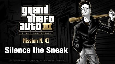 GTA 3 - iPad Walkthrough - Mission 41 - Silence the Sneak