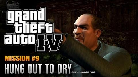 GTA 4 - Mission 9 - Hung Out to Dry (1080p)