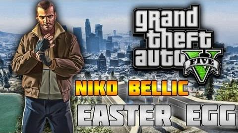 Niko Bellic Playable Character in GTA 5! (GTA Easter Egg Tutorial)