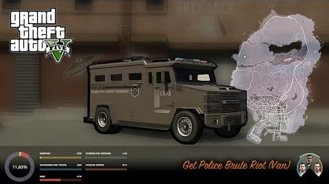 GTA V - How to get and store the Police Riot