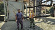 Harmony Fuel Depot GTAV NPCs