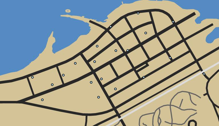 Desert Storm Deathmatch GTAO Map