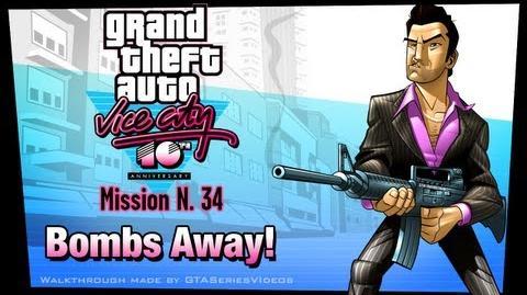 GTA Vice City - iPad Walkthrough - Mission 34 - Bombs Away!