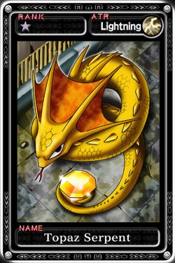 Topaz Serpent
