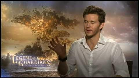 "Ryan Kwanten talks about the mythology of both ""Legend of the Guardians"" and ""True Blood"