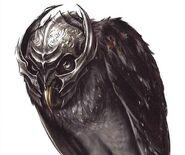 Movie metal beak art