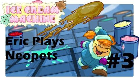 Let's Play Neopets 3 Ice Cream Machine