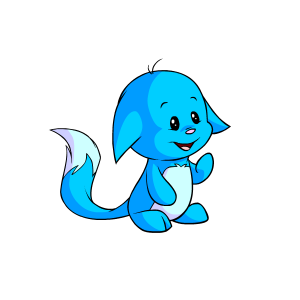 Blue kacheek