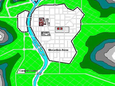 Morastius-Renu - Map
