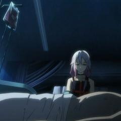 |Gai taking Inori's blood