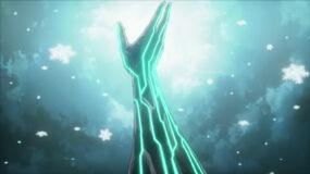 Shu's arm brings light