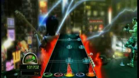 Guitar Hero World Tour Guitar The Middle FC