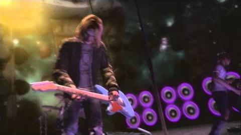 Guitar Hero 5 - Smells Like Teen Spirit Performance By Kurt Cobain