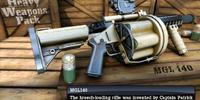 MGL 140 Grenade Launcher