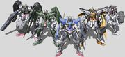 3rd Gen Gundams