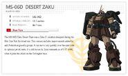 MS-06D Desert Zaku