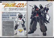 00V GN-008GNHW3G Seravee Gundam + SEM