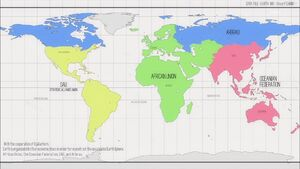 Post Disaster Earth Map
