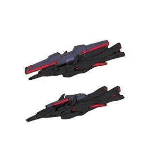 Fighter Mode w/Beam Cannon/Rifle (OZ Colors)