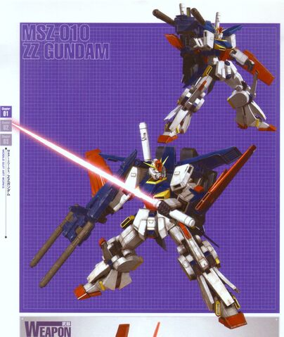 File:MSZ-010 ZZ Gundam with Beam Saber and Double Beam Rifle.jpg