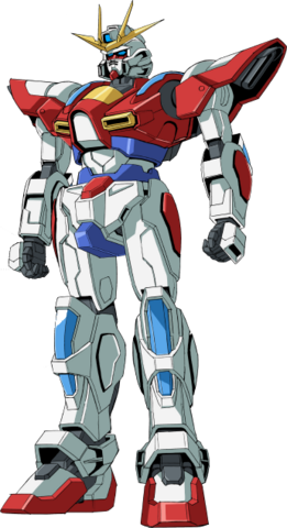 File:BG-011B Build Burning Gundam - Front.png