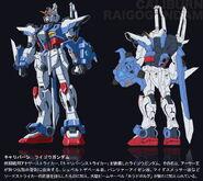 GAT-FJ108 - Caliburn Raigo Gundam