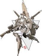 AMX-007 - Gaza-E - MS Girl