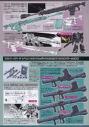 MS-06R-1A Zaku II High Mobility Type Weaponry Part 1